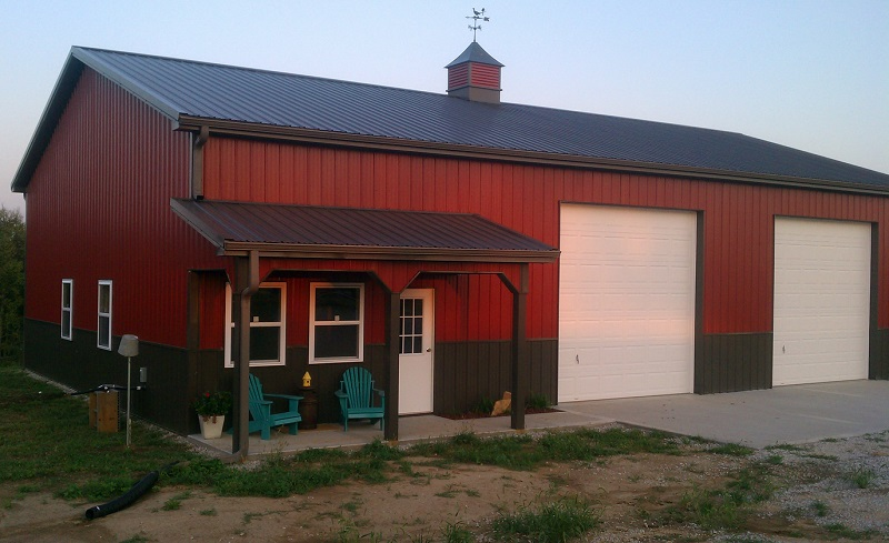 Photo gallery for Red metal barn